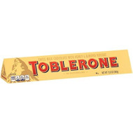 Toblerone Large Milk Chocolate Bar, 12.6-Ounce