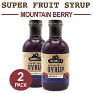 Kodiak Cakes Super Fruit Syrup, Mountain Berry, 16 Ounce (Pack Of 2)