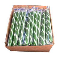 Old Fashioned Green Apple Candy Sticks - 80 / Box