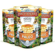 Paleo Pancake And Waffle Mix By Birch Benders, Made With Cassava, Coconut, Almond Flour, Just Add Water, 12 Ounce (Pack Of 3)
