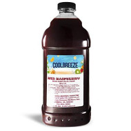 Cool Breeze Beverages Ready To Use Slush Mix, Red Raspberry, 1/2 Gal