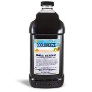 Cool Breeze Beverages Ready To Use Slush Mix, Wild Berry, 1/2 Gal
