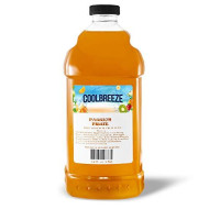 Cool Breeze Beverages Ready To Use Slush Mix, Passion Fruit, 1/2 Gal