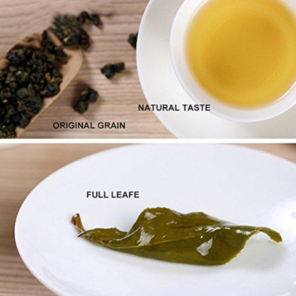 Yan Hou Tang Organic Taiwan Dong Ding Oolong Souvenir Tea Loose Leaf Herbal Breakfast 150G - Half Cooked 35% Fermented Bake Aroma Flavor Taste Formosa High Mountain Traditional Classic Oolong