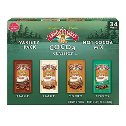 Land O' Lakes Cocoa Classics Variety Pack (34 Count)