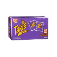 Takis Fuego Tortilla Hot Chili & Lime Chips Extra Large Bonus Box Of 40 Ct Of 4 Oz Bags