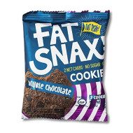 Fat Snax Cookies - Low Carb, Keto, And Sugar Free (Double Chocolate Chip, 12-Pack (24 Cookies)) - Keto-Friendly & Gluten-Free Snack Foods