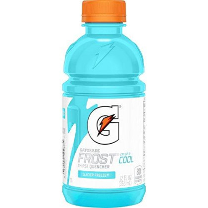 Gatorade Frost Thirst Quencher, Variety Pack, 12 Ounce Bottles (Pack Of 24)