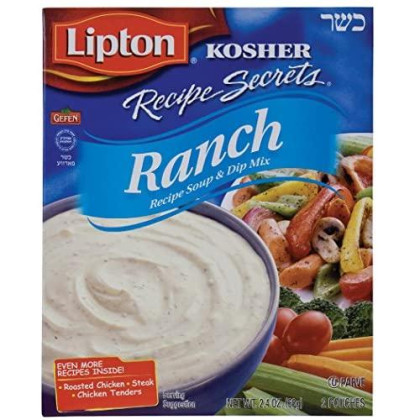 Lipton Recipe Soup And Dip Mix, Ranch 2.4Oz (6 Pack)