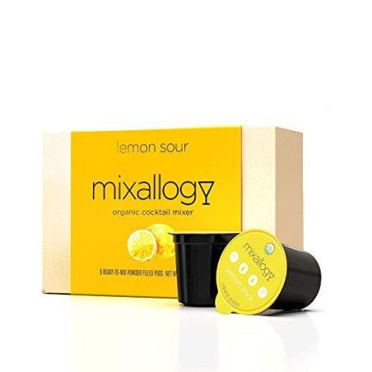 Mixallogy Lemon Drop Powdered Cocktail Mix, Usda Certified Organic - 6 Servings