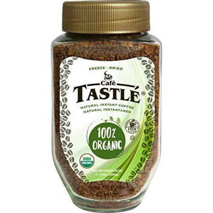 Cafe Tastle 100% Organic Instant Coffee, 7.14 Ounce