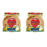 Value 2 Pack: Joseph's Low Carb Tortillas, Flax, Oat Bran & Whole Wheat, 8 Inch, 6 Tortillas