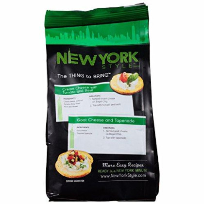 New York Style Bagel Crisps, Garlic, 7.2 Ounce (Pack Of 3)