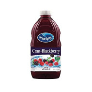Ocean Spray Juice Drink, Cran-Blackberry, 64 Ounce Bottle (Pack of 8)