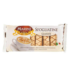 Marini Sfogliatine Glassate Puff Pastry Glazed Biscuits / Cookies - Biscottificio Di Verona Italiani - Product Of Italy