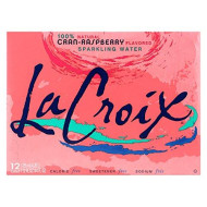 Lacroix - 100% Natural Sparkling Water Cran-Raspberry - 12 Can(S)