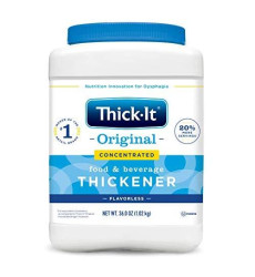 Thick-It  Concentrated Instant Food And Beverage Thickener Unflavored - 10Oz, Pack Of 5