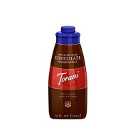 Torani Sugar Free Dark Chocolate Puremade Sauce, 64 Ounce