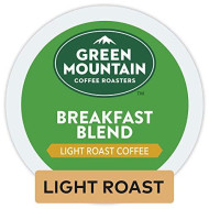 Green Mountain Coffee Roasters Breakfast Blend Keurig Single-Serve K-Cup Pods, Light Roast Coffee, 32 Count