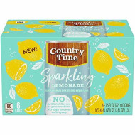 Country Time Sparkling Lemonade (6.75Fl.Oz Bottles, Pack Of 4)
