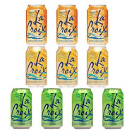 La Croix Orange, Lemon, Lime - Variety Pack, 12Oz Cans (10-Pack Variety, Total Of 120 Oz)