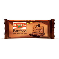 Britannia Bourbon - Choco Kreme Biscuits - 97 Grams X 24 Pack