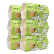 Zee Zees Diced Pear Fruit Cup, In 100% Juice, No Sugar Added, Gluten Free, 4 Oz Cups, 24 Pack