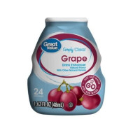 Great Value Simply Clear Drink Enhancer, Grape, 1.62 Fl Oz, 3 Count