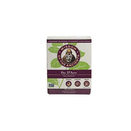 Wisdom Of The Ancients Pau D' Arco Tea Bags, 1.1 Oz