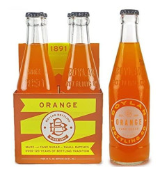 Boylan Soda, Orange, 12 Fl. Oz., 12 Count