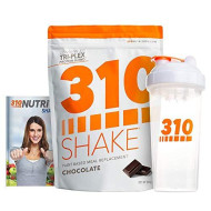 Chocolate Meal Replacement   310 Shake Protein Powder Is Gluten And Dairy Free, Soy Protein And Sugar Free   Includes Clear 310 Shaker And Free Recipe Ebook (Digital)   28 Servings