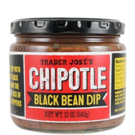 Trader Joe?s Chipotle Black Bean Dip NET WT. 12 OZ (340g)