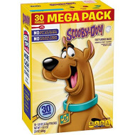 Betty Crocker Scooby Doo Snacks, Fruit Snacks, Mega Pack, 30 Ct, 24 Oz