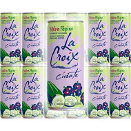 La Croix Mure Pepino, Blackberry Cucumber Flavored Naturally Essenced Sparkling Water, 12 oz Tall Can (Pack of 12, Total of 144 Oz)