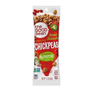 The Good Bean Chickpeas Snacks Grab & Go, Sweet Sriracha, Gluten Free And Non-Gmo, 1.4 Ounce, 10 Count