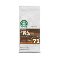 Starbucks Pike Place Medium Roast Ground Coffee, 40 Ounce, 2.5 pounds