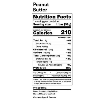 Rxbar, Best Seller Variety Pack, Protein Bar, 1.83 Ounce (Pack Of 24) Breakfast Bar, High Protein Snack