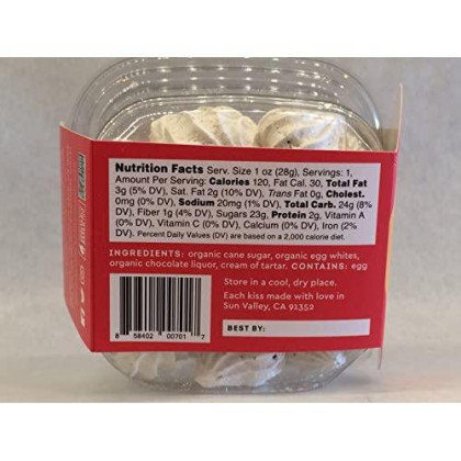 Alice'S Sweet Tooth French Meringue Kisses, Variety Pack Of 6 Flavors