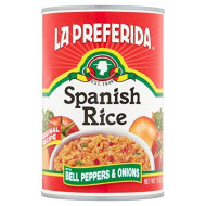 La Preferida Canned Spanish Rice - Quick & Easy, Robust Sauce Of Tomatoes, Bell Pepper And Onion. Vegan, Natural Ingredients,15 Oz (Pack Of 6)