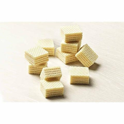 Gastone Lago Party Variety Wafers Cream Filling 8.82 oz, 250g (Pack of 3) (Chocolate / Vanilla / Strawberry, 3-Pack)