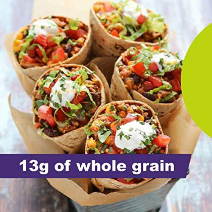 Flatout Wraps, Multi-Grain with Flax (1 Pack of 6 Flatbreads)
