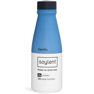 Soylent Meal Replacement Shake, Vanilla, 12-Pack, Complete Meal In A Bottle, 20G Plant Protein, 14 Oz Bottles