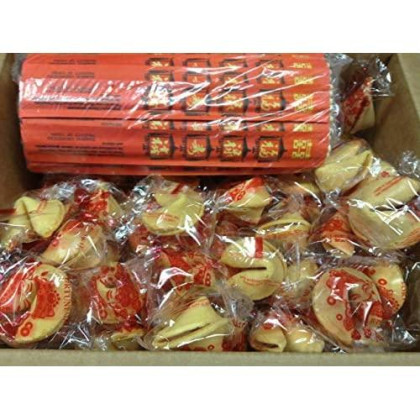 Chinese Party Bundle, Fortune Cookies And Chopsticks Party Pack, 50 Pieces Each