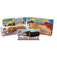 Little Debbie Variety Pack - Oatmeal Creme Pies, Honey Buns, Swiss Rolls, Cosmic Brownies, And Zebra Cakes
