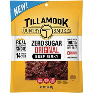 Tillamook Country Smoker Zero Sugar Original Keto Friendly Beef Jerky, 2.2 Ounce