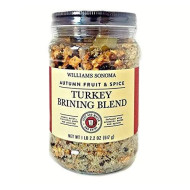 Williams Sonoma Turkey Brining Blend - Autumn Fruit And Spices, 1 Lb. 2.2 Oz. (Brines Up To 20 Lb. Poultry Or Meat). - Made In Usa.