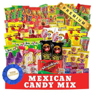 Mexican Candy Assortment Snacks (84 Count), Variety Of Spicy, Sweet, Sour Bulk Candies Dulces Mexicanos, Includes Lucas Candy, Pelon, Vero Lollipop, Pulparindo Makes A Great Gift By Mtc.