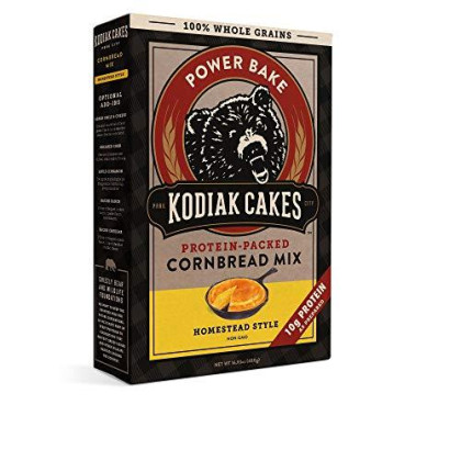 Kodiak Cakes - Protein-Packed Cornbread Mix (Pack of 4)