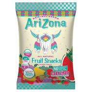 Arizona Real Fruit Snacks | All Natural Gummy Fruit Snacks + Healthy Fruit Chews | No Preservatives, Artificial Colors Or Flavors 5-Ounce Bags (Pack Of 12)