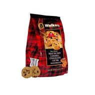Walkers Shortbread Mini Salted Caramel Chocolate Chunk Shortbread Cookies, 4.4 Ounce Bag (Pack of 6)